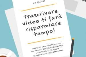 Trascrivere video